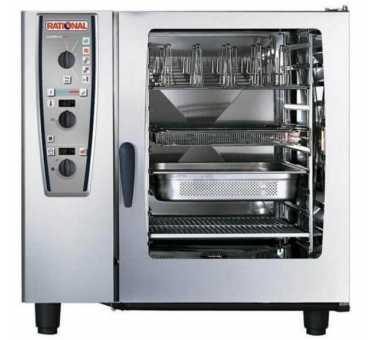 RATIONAL - Four mixte électrique mécanique 10 niveaux Gn 2/1 - CM-PLUS-102-E