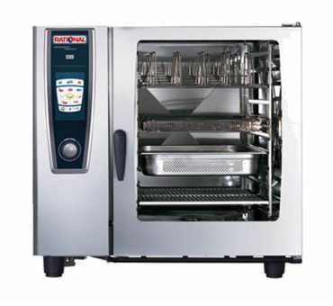 Four mixte SelfCookingCenter de Rational 10 niveaux GN2/1 SCC-102-E