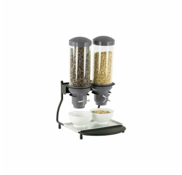 CASSELIN - Distributeur de céréales 2 tubes - CD2C