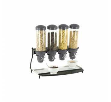 CASSELIN - Distributeur de céréales 4 tubes - CDC4