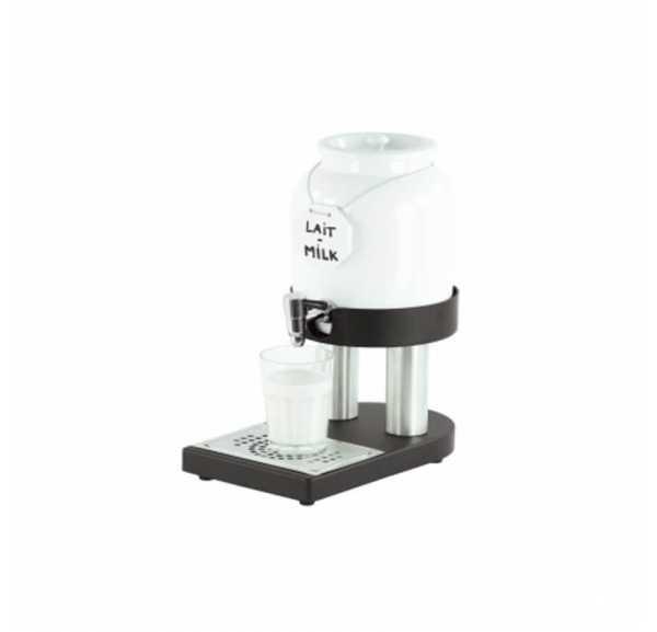 CASSELIN - Distributeur de lait froid en porcelaine 4L - CDLPF4