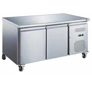 AFI - Table réfrigérée 2 portes / Prof.700 - Série STAR GN 1/1- AA2PP