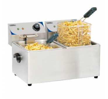 CASSELIN - Friteuse électrique 2 x 7 litres - CFE72