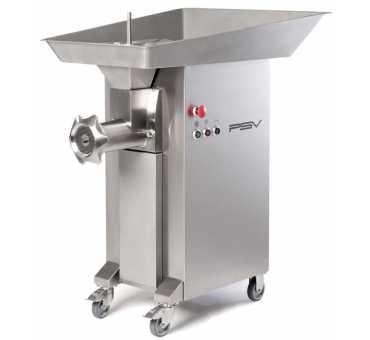Hachoir à viande Industriel sur socles et roues 1400 kg/h PSV - DRC 42/130