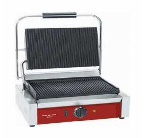 ELECTROBROCHE - Grill panini plaques rainurées - PG400ST