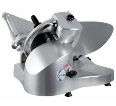 MANCONI - Trancheuse lame 350 mm avec affûteur indépendant et extracteur de lame - 350IMP DUAL NR