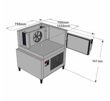 ACFRI - Cellule mixte 4 à 7 niveaux Gn 1/1 et 600 x 400 mm - RS20/RL