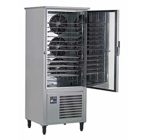 Cellule de refroidissement et surgélation ACFRI 12 à 23 niveaux Gn 1/1 et 600x400