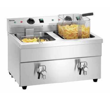 Friteuse professionnelle à induction 2x8 litres BARTSCHER - 162914