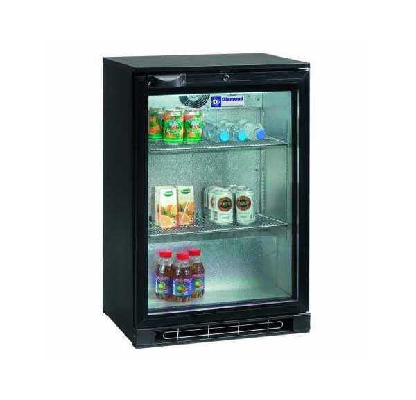 Mini Armoire Vitree Positive 122 L Diamond Vitrine A Boissons