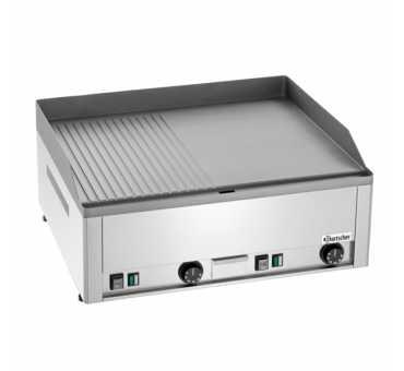 BARTSCHER - Plaque à snacker électrique lisse / rainurée 650 mm - 370036