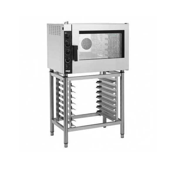 GIORIK - Four mixte électrique à injection, 5 niveaux GN 1/1, 600X400 - ECE52