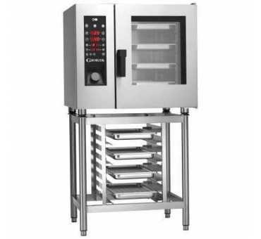 GIORIK - Four mixte électrique 6 niveaux GN1/1 avec injection vapeur - SEPE061