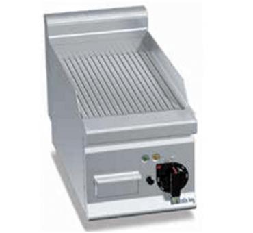 AFI - Grill électrique rainuré à poser - E6FR3BP