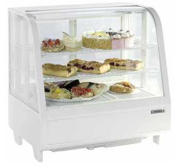 CASSELIN - Vitrine réfrigérée à poser 100L +2°C/+12°C - CVR100LB