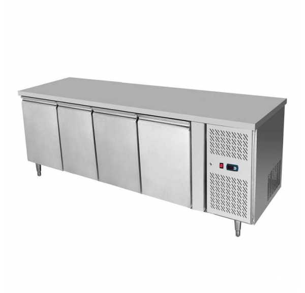 ATOSA - Desserte réfrigérée 510L 4 portes table snack 600 - EPF3441