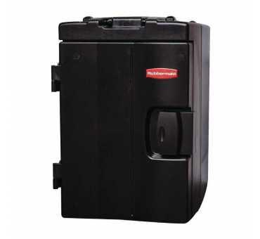 RUBBERMAID - Conteneur alimentaire chargement frontal Catermax 89L noir - L702