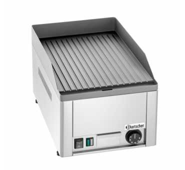 BARTSCHER - Plaque à snacker électrique rainurée 320 mm - 370035