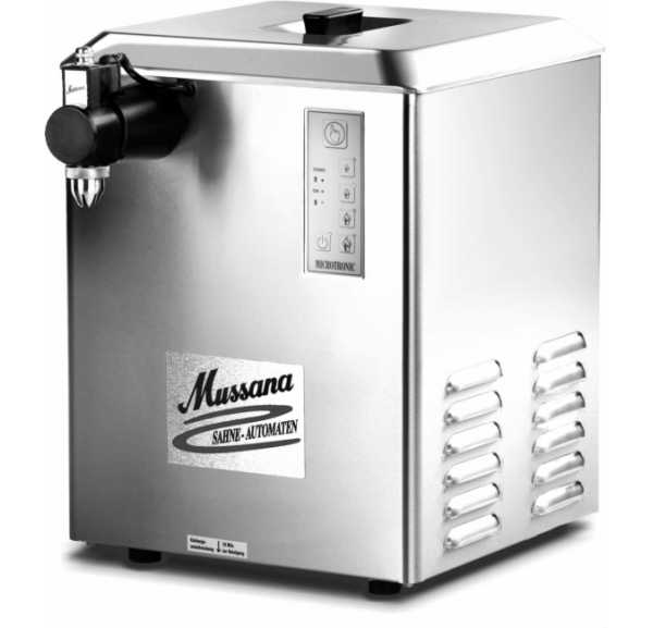 MUSSANA - Machine à chantilly 12 L Grande Microtonic