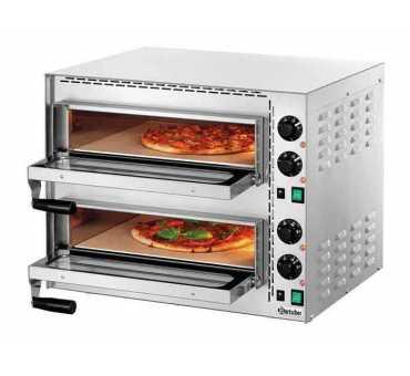Four à pizza électrique 2 chambres pas cher - Bartscher 203530