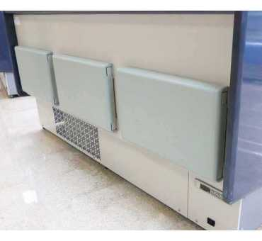 INFRICO - Vitrine réfrigérée bombée semi-ventilée 0°C/+6°C - MADRID