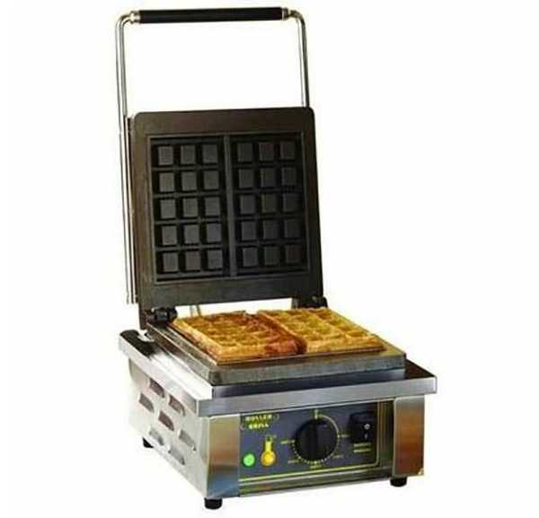 ROLLER GRILL - Gaufrier professionnel simple moules bruxellois - GES10RO