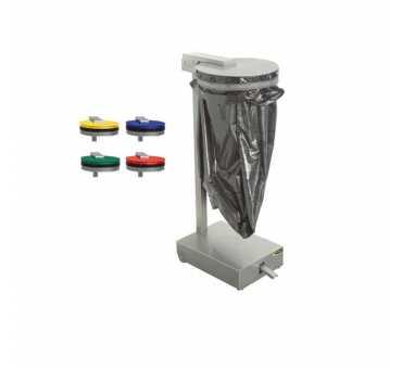 SOFINOR - Support sac poubelle 50 à 100 litres vert - CPB07AV