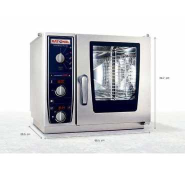 RATIONAL - Four mixte compact CombiMaster Plus XS