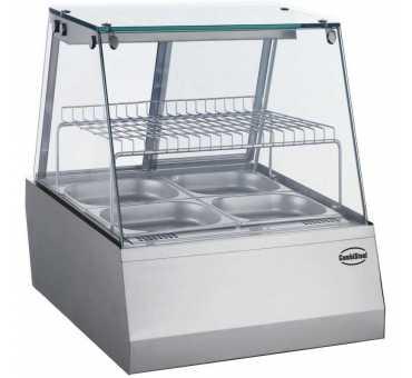 COMBISTEEL - Vitrine chauffante 110 litres - 7487.0150