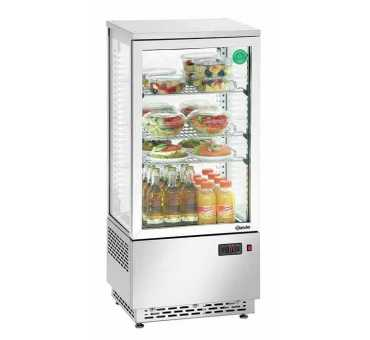 BARTSCHER - Vitrine réfrigérée de comptoir en inox 78 L - A2CH