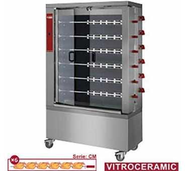 DIAMOND - Rôtissoire électrique 36 poulets - RVE/6C-CM