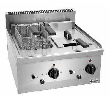 Friteuse électrique 2 cuves de 8 litres - 131425