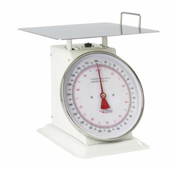 WEIGHSTATION - Balance avec plateau extra large 100kg capacité 100kg graduation 200g - F187