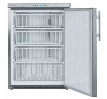 LIEBHERR - Armoire négative table top en inox 143 L - GGU 1550
