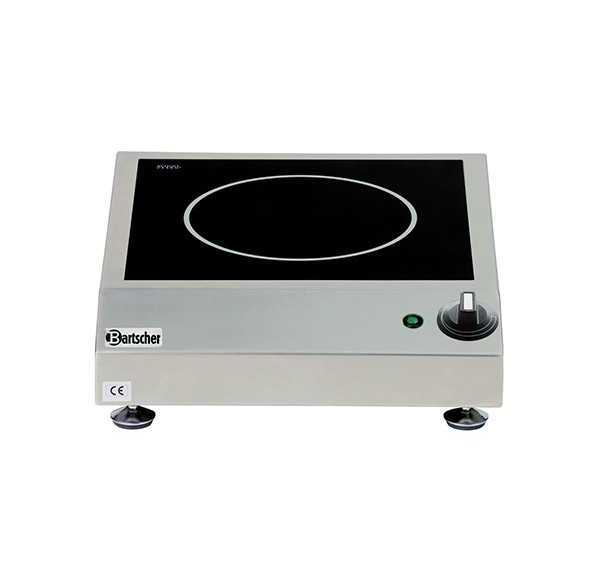 11e163d8aa608c Plaque induction pro 1 plaque en Schott Ceran 2500 W Bartscher - A105942