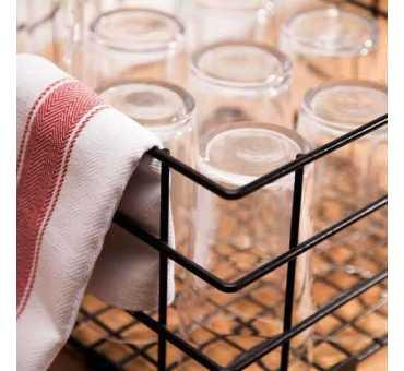 Casier de lavage haut pour verres Vogue 180 mm de haut