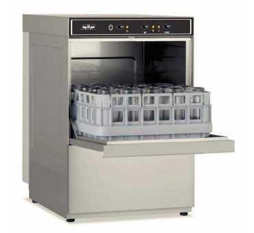 Lave-verres 400 x 400 MBM pour verres, tasses, assiettes - LB406