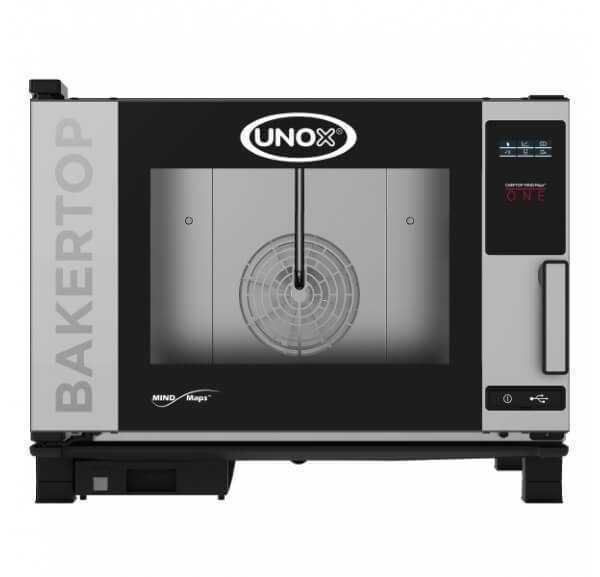 UNOX - Four mixte BakerTop One 4 niveaux 600 x 400mm - XEBC-04EU-E1R