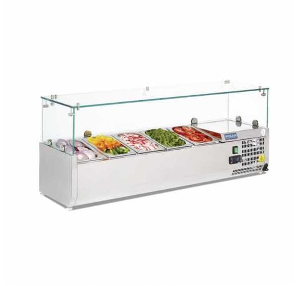 Saladette Réfrigérée à Poser 5 x GN 1/4 - VR4120RW