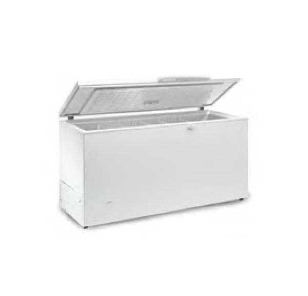 EUROFRED - Congélateur Coffre Porte Inox 664 L - SIFI700