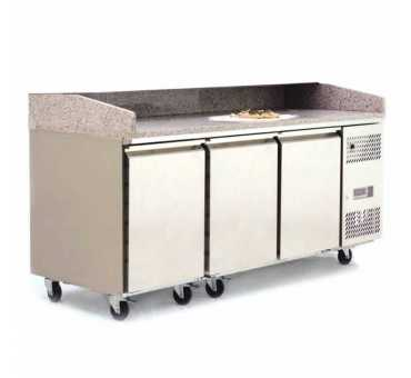 ATOSA - Meuble à pizzas 3 portes 600x400 - EPF3485