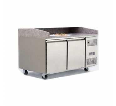 ATOSA - Meuble à pizzas 2 portes 600x400 - EPF3495
