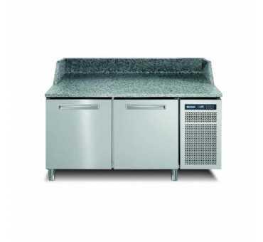 AFINOX - Meuble à pizza réfrigéré positif ventilé +2/+7°C 2 portes - PZSPR+820I