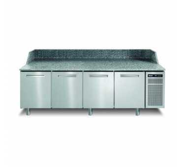 AFINOX - Meuble à pizza réfrigéré positif ventilé +2/+7°C 4 portes - PZSPR+840I