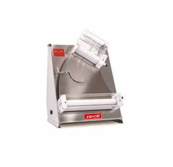 ZANOLLI - Façonneuse ROLLER avec rouleau oblique pour pizza Ø260 à 430 mm pâtons 210 à 700g - ROLLER45OINOX