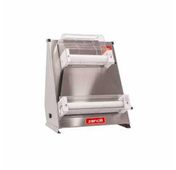 ZANOLLI - Façonneuse ROLLER avec rouleaux parallèles pour pizza Ø300 à 430 mm pâtons 210 à 700g - ROLLER45PINOX