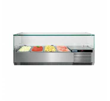 Saladette Réfrigérée avec vitrage - VRS+V
