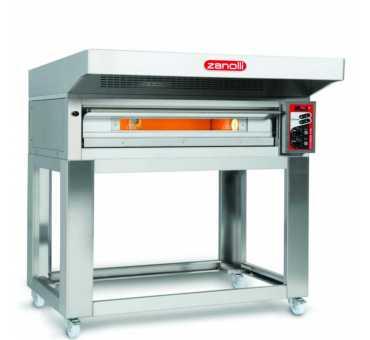 ZANOLLI - Four à pizza électrique CITIZEN PW 1 chambre 6 pizzas Ø330 mm - CITIZENPW6/MC