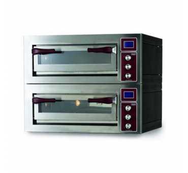 OEM - Four à pizza modulable 2 chambres x 4 à 9 pizzas Ø 350 - PULSAR 2