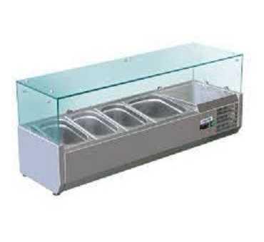 Saladette Réfrigérée avec vitrage - VRX/380